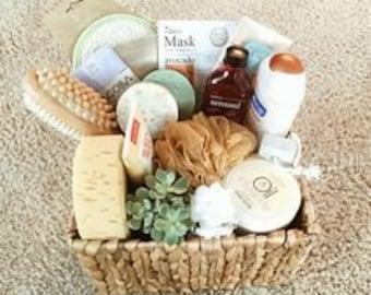 Spa, Bath, Gift, Gift Basket, Fun, Romantic, Beauty