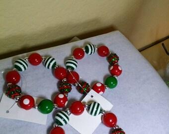 Polka Dot and Pinstripes Too Stretch Bracelet