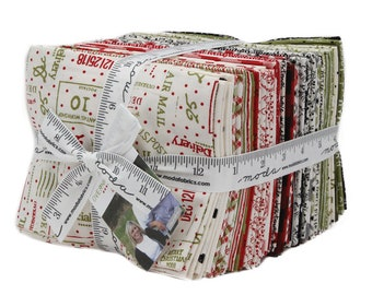 Overnight Delivery by Sweetwater for Moda - Factory Precut - Fat quarter bundle - SAMPLE SPREE PRECUT