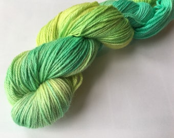 Soft Crocus merino sport weight yarn