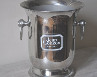 French Champagne Bucket - Jean Couzon - Stainless Steel 18/10