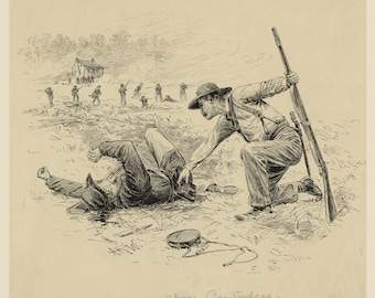 Images of America: The Civil War -  Spare Cartridges, 1864 by Alfred Waud - Fine Art Print Reproduction