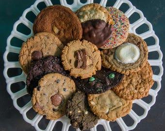 1 dozen assorted cookies