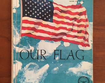 """Armed Forces """"Our Flag"""" 1962 Pamphlet"""