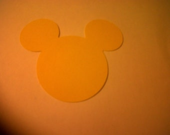 25 Piece Mickey & Minnie Mouse Heads