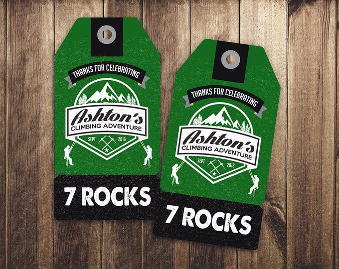 Ready to Rock, Rock Climbing Birthday Invite, 10 rocks, ten rocks, boy birthday, Adventure outdoors, hiking, 9. 10, 11, 12, 13, 14, 8, boy