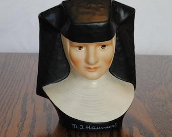 Bust M. I. Hummel, Hummel Figurine, Hu3, TMK 5, Special Edition no. 3