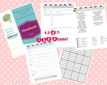 Printable Crochet Journal