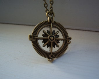 Compass Necklace - Free Gift With Purchase