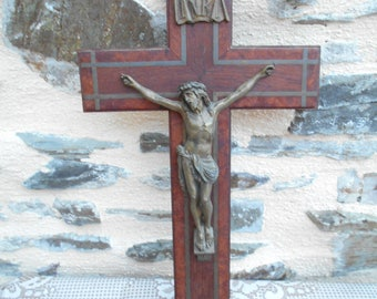 Vintage French Crucifix (G)