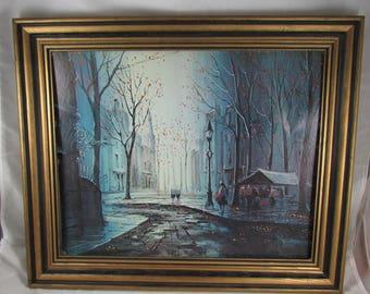 G. Pierre French Impressionism Print Retro Paris Art Artwork