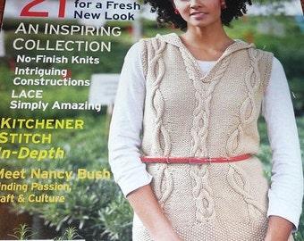 Interweave Knits Magazine Spring 2010