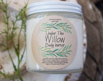 Under the Willow Body Butter 4 oz Citrus Vanilla Holiday Gift Moisturizer Lotion