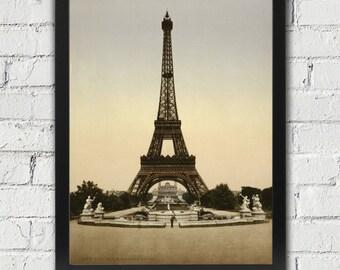 Eiffel Tower Paris, Framed Eiffel Tower, Paris Photo Eiffel Tower, Paris Home Decor, Eiffel Tower Photo, Paris Print, (301)