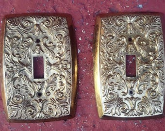 Vintage Holton Light Switch Plate #3050