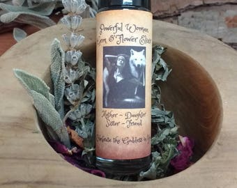 Powerful Woman Blend, Moonstone, Patchouli, Cassia, Amber, Mugwort, Rose Petals Essential oil Perfume, Divine, Sacred, Empowering, Strength