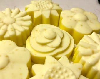 Lemon, honey, eucalyptus bar soap