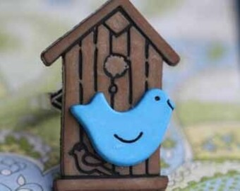 Home Is Where The Bird Is Ring