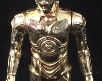 Vintage 1977 Star Wars C3PO Action Figure/Lucas Films/Original Figure