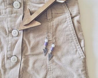 Purple and Arrow...