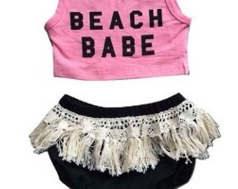 Beach Babe Infant Outfit