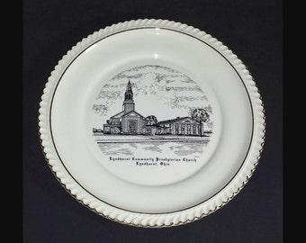 Lyndhurst Community Presbyterian Church of Lyndhurst Ohio Decorative Plate