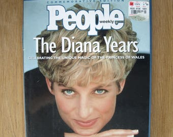 People Weekly Commemorative Edition Princess of Wales The Diana Years - Princess Diana