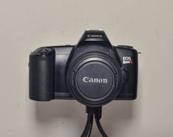 Canon EOS Rebel X SLR 35mm film camera with Canon 38-76mm F4.5-5.6 Zoom Lens  - ideal student camera