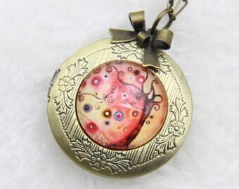 Necklace locket lucky tree 2020m