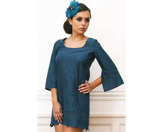 Vintage blue tunic