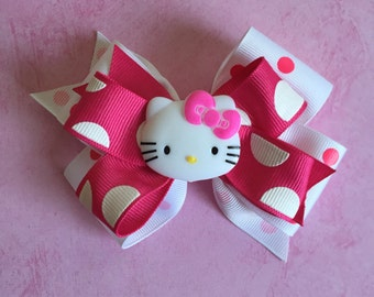 Hello Kitty Bow (Free Shipping in US)