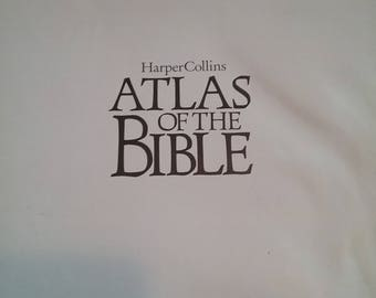 Vintage Atlas of the Bible by Harper Collions  1997 used