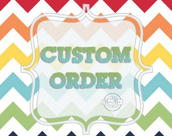 Custom Order for Jan, 2 11x14 birth announcement prints