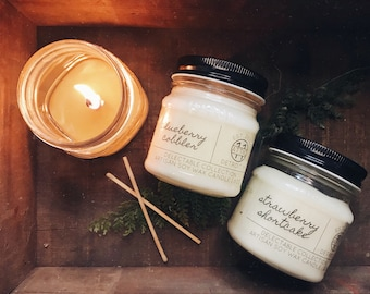 Choose Any Two - Hand Poured Soy Candles