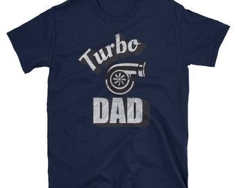 Turbo Dad Shirt Car Dad T-Shirt Fathers Day Gift Funny Car Shirt Wrx Sti Turbocharger Subaru Twin Turbo T-shirt Car Enthusiast shirt Subie