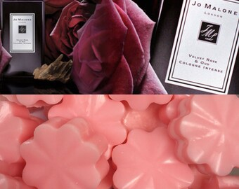 Jo Malon dupe Velvet Rose & Oud wax melts x3 luxury and designer highly scented wax melts