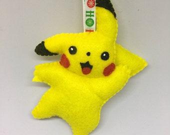 Pikachu Pokemon Ornament Or Keychain
