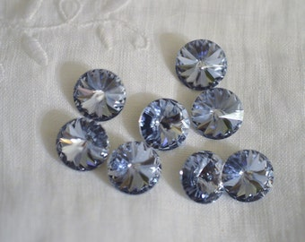 12 pieces 1122 Provence Lavender 10mm (47ss) Swarovski Crystal Rivolis