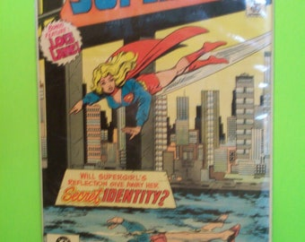 Supergirl New Adventures #4 (2nd-Series) Supergirl Vs The Gang , Lois Lane Backup Story Good- VG Condition Vintage Comic Book 1983 DC Comics