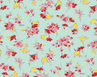 extra15 20% OFF Penny Rose Fabrics Lily By Sue Penn Main Mint
