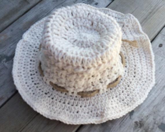 Häkeln Sie Baumwolle Kinder Hut Kind Sommerhut