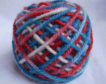 NEW! THree Color #V10 Wool Rug Yarn 100% Wool Ready To Use 3 Ply Thick 1/8 lb