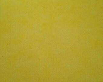 12x12 Sunshine Yellow Sponged Paper