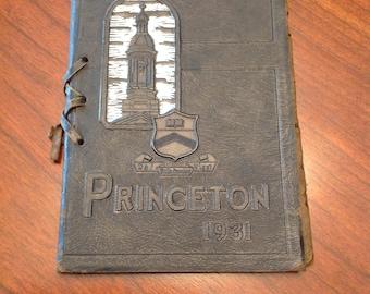 Princeton university commencement week 1931