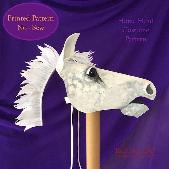 Pferdekopf Kostüm Maske Anleitung