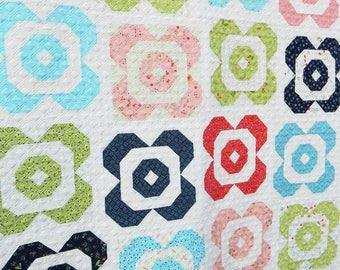Flower Garden Quilt Pattern (PDF)