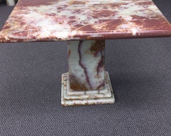 Onyx Natural Stone Table