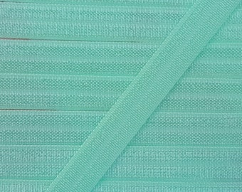 3/8 MINT Fold Over Elastic 5 or 10 Yards