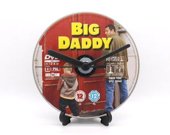 Adam Sandler Big Daddy Upcycled DVD Clock Film Movie Collectable Gift Idea