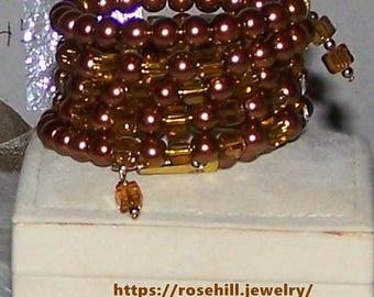 7219  Memory Wire Bracelet Item # 7219